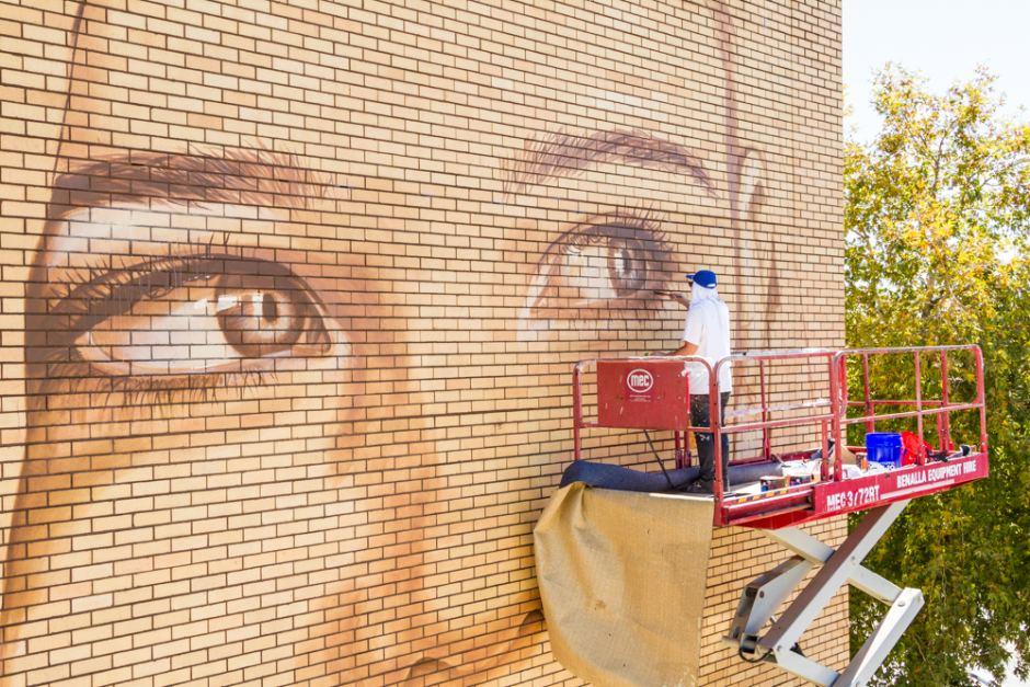 Painting Benalla's streets