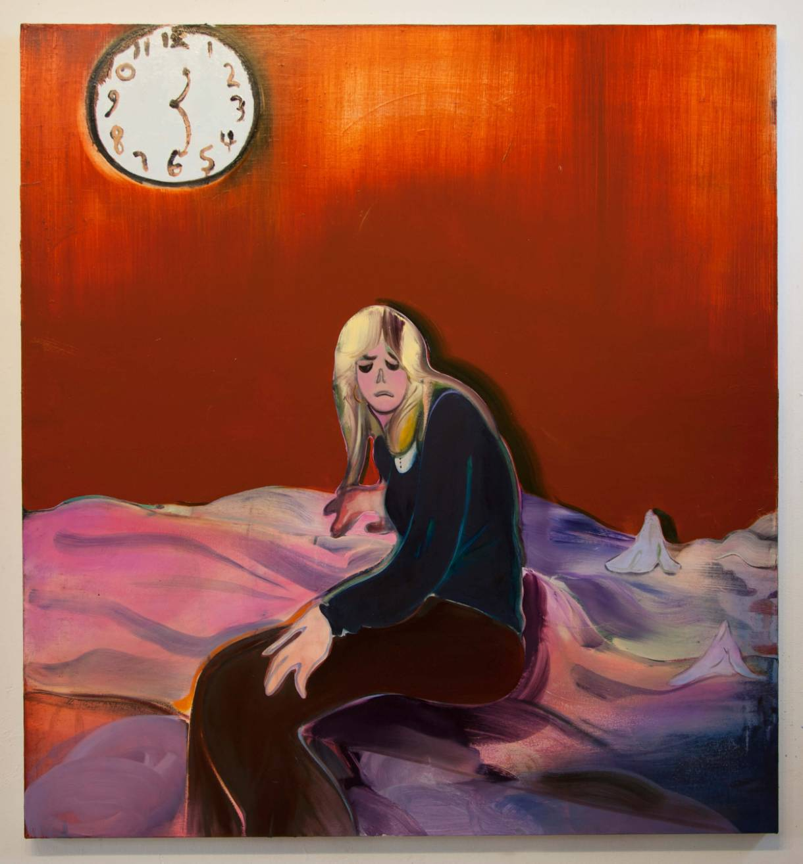 Heidi Hahn paintings of the female body