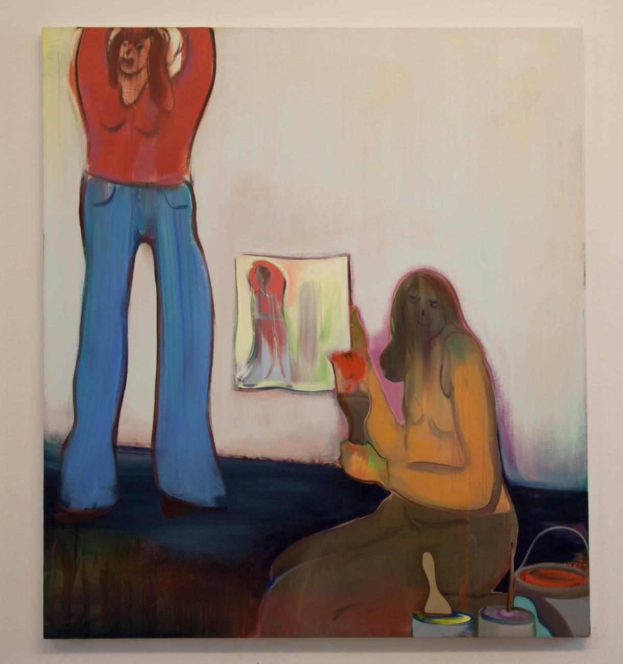 Heidi Hahn body paintings of the female