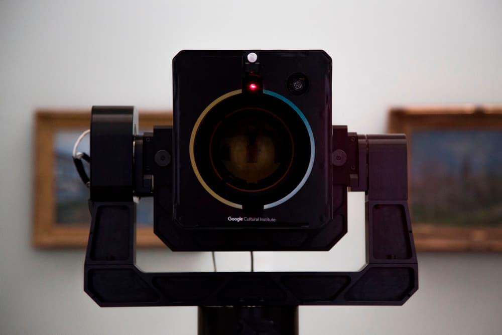 google cultural institute art camera