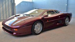 Jaguar 220 supercar