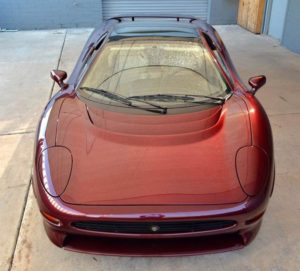 Jaguar 220 front hood view