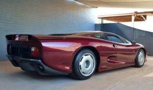 Jaguar 220 rear view